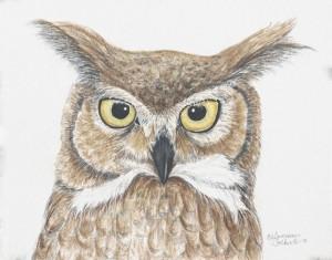 "Origianl watercolor  11""W x 8.75""H"